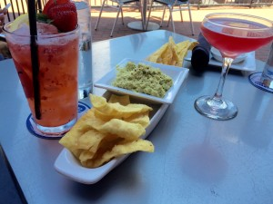 Appetizer on the patio