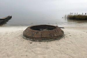 Public fire pit