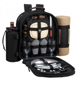 Picnic at Ascot backpack