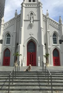 St. Joseph Cathedral in downtown Baton Rouge
