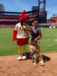 St. Louis Cardinals mascot, Fredbird